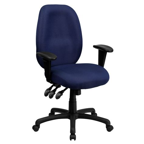 flash high back ergonomic task chair with arms by oj