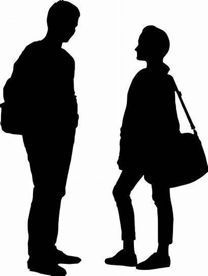 Person Silhouette Outline Transparent Clip Clipart Library
