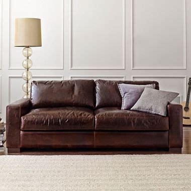 jcpenney leather sofa 10 best leather sofas in 2018 reviews of brown and black 2047