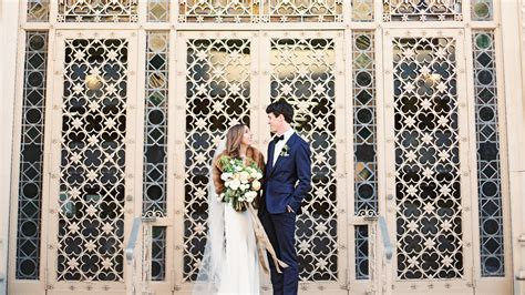 romantic urban wedding  austin tx martha stewart