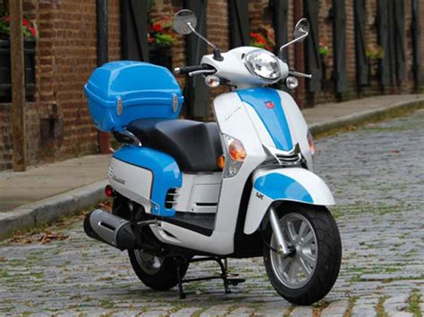2014 Kymco Like 50 LX Review - Top Speed