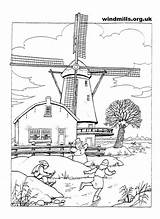 Coloring Windmills Windmill Holland Pages Printable Adult Adults Google Wood Patterns Fun Windmolens Cool Colouring Dutch Burning Sheets Books Farm sketch template