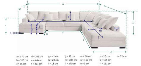dimensions canapé test avis canapé d 39 angle 7 places loft de maisons du monde