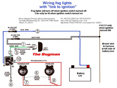 hella fog light wiring diagram hella fog light wiring