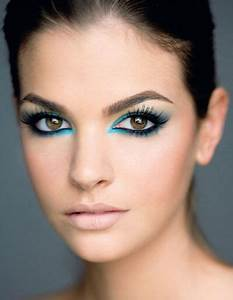 Maquillage Soirée Yeux Marrons : maquillage crayon bleu yeux marrons ~ Melissatoandfro.com Idées de Décoration