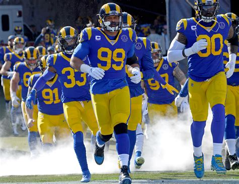 los angeles rams  schedule  room  optimism