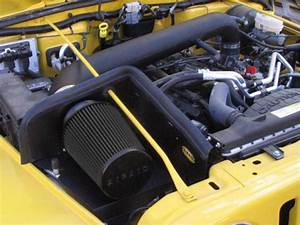 2006 Jeep Wrangler Airaid Cad Cold Air Intake System With