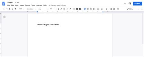 How to Use Google Docs to Offer Real Time Feedback - Droplr
