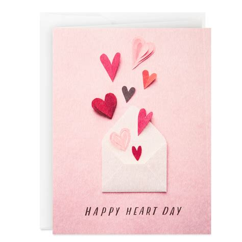 Happy Heart Day Valentine's Day Card - Greeting Cards ...