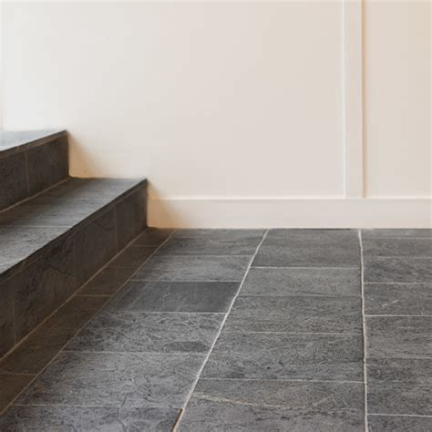 Soapstone Tile Is A Great Option For Flooring  Wall And