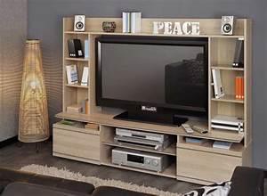 Grand Meuble Tv : grand meuble tv duke ~ Teatrodelosmanantiales.com Idées de Décoration