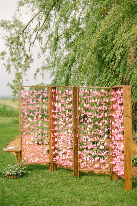 15 creative ceremony backdrops project wedding