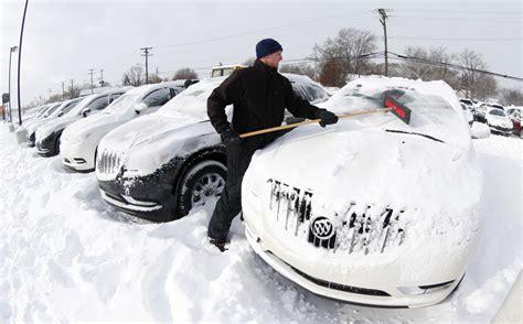 subzero polar vortex pushes frigid air