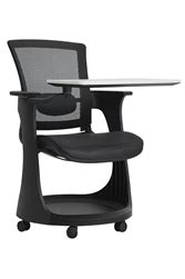 eurotech seating eduskate chair with tablet arm and cup holder