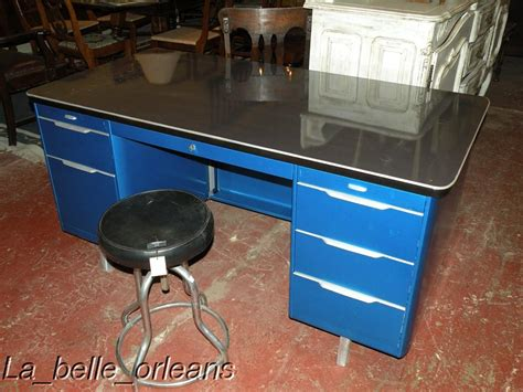 industrial desk for sale vintage industrial metal tanker desk totally restored