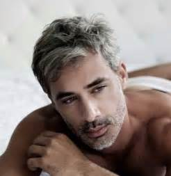 Short Hairstyles for Men with Grey Hair