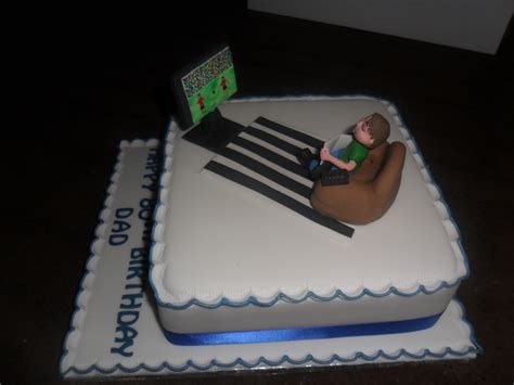Cake Decorating Shows On Tv - on sofa tv birthday cake cakecentral