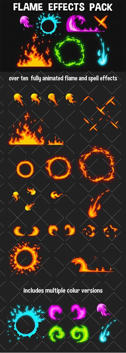 Flame Effect 2d Effects Pack Gamedev