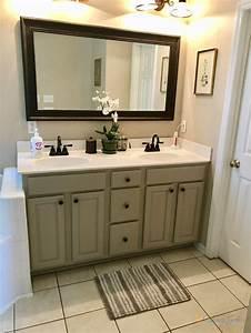balanced beige bathroom 2 cabinet