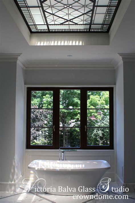 small leaded glass skylight ceiling larissa victoria balva