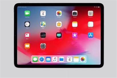 Ipad Apple Pro Screen Homescreen Redesign Iphone