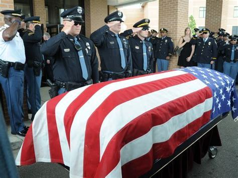 Thousands turn out for Miss. police officer's funeral