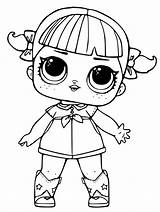 Lol Coloring Dolls Pages Surprise Doll Pieces sketch template