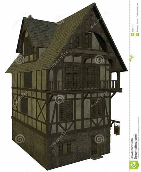 Mittelalterliches Haus Lizenzfreie Stockfotografie Bild