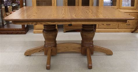 amish kitchen cabinets mission pedestal table amish traditions wv 1243
