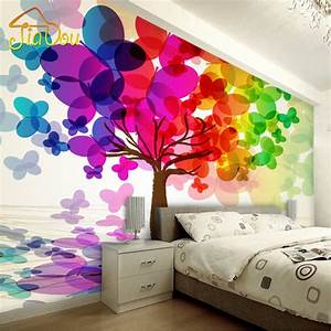 Customized Any Size 3D Wall Mural Wallpaper For Bedroom ...