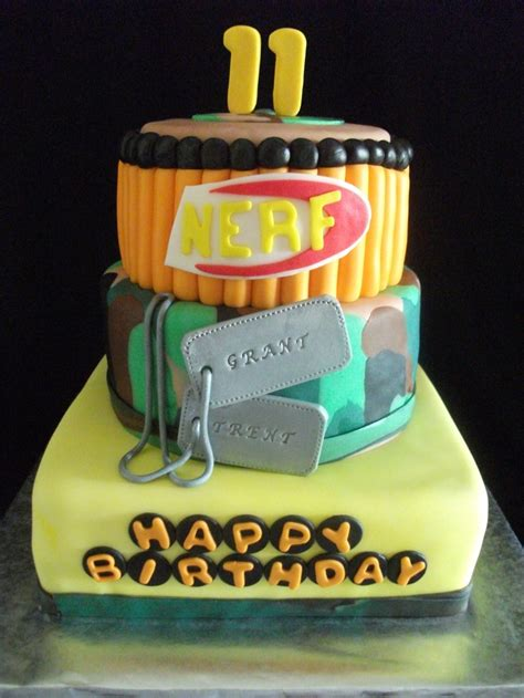 nerf birthday cake nerf birthday cake ideas and designs