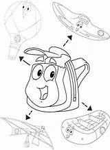 Rescue Pack Diego Coloring Lyrics Pegboard Cake Template Bag Números Letras sketch template