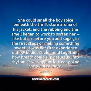 Quotes about Ar... Sweet Aroma Quotes