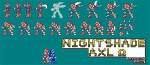 Megaman Zero MKII SM sheet by NightshadeAxl on DeviantArt