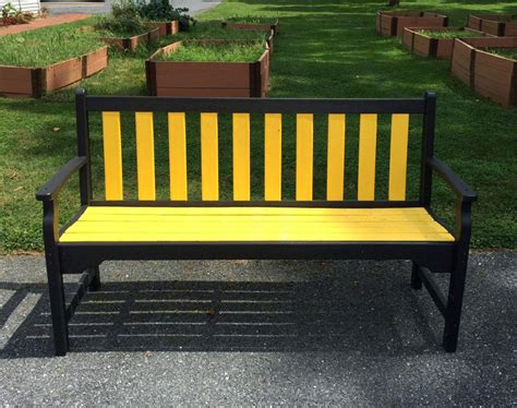 Bench Plazarecycled Garden Benches Recycled Outdoor