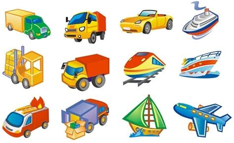 Means Of Transportation Clipart