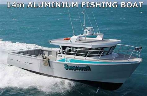 Longline Fishing Boat Design by New 14m Alloy Cray Boat Commercial Vessel Boats Online