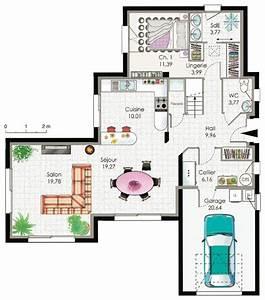 filippax plan de maison moderne With plans de maisons modernes