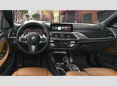 Dimensioni BMW X3 2017, bagagliaio e interni