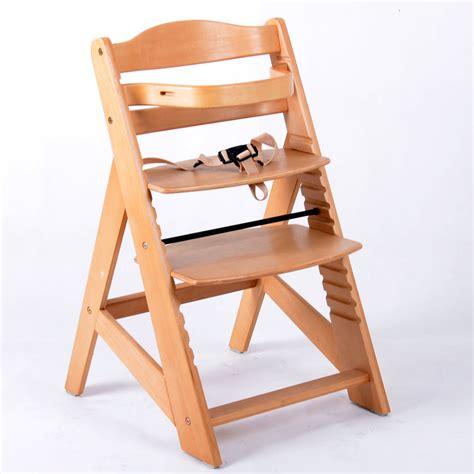chaise haute bois bébé chaise haute en bois ajustable chaise bébé escalier chaise