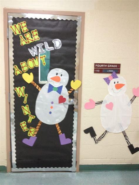 Winter Classroom Door Themes by Classroom Door Ideas Winter Classroom Door Decor