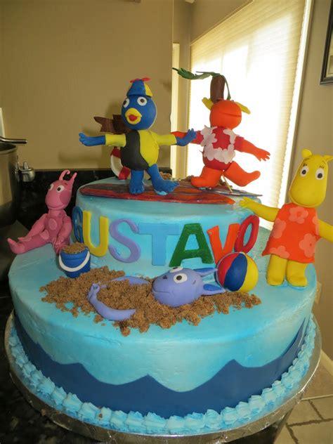 cakes   backyardigans cake