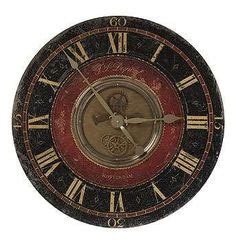 Uttermost Clocks Best Prices by Uttermost Natara 32 Inch Wall Clock 6748 I Big