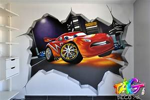 decoration chambre ado graffiti