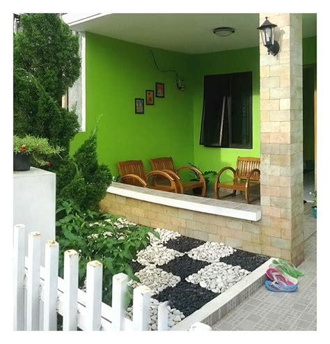 top desain ruang tamu  teras rumah homkonsep