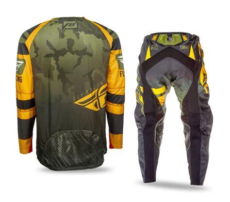 camo motocross jersey fly racing new 2016 mx evolution orange green camo