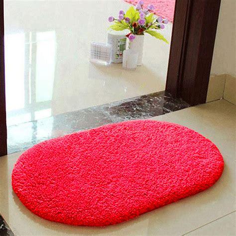 fluffy bathroom rugs anti skid fluffy shaggy absorbent area rug bedroom bath