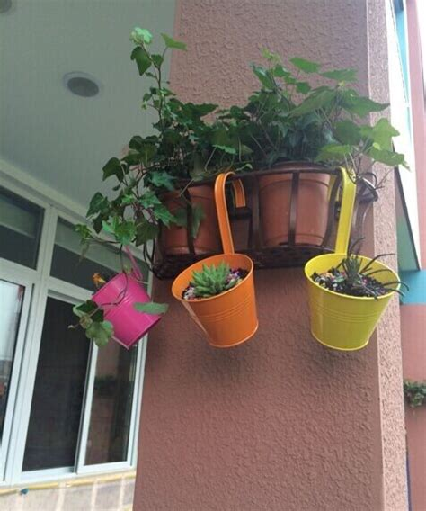 Pot Anggrek Plastik vertical garden langit perkebunan gantung terbalik