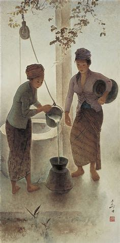 lee man fong images indonesian art painting art