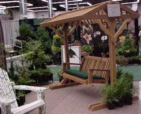 yard swing frame  roof ft  ft patio swing
